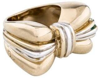 Christian Dior Bow Cocktail Ring