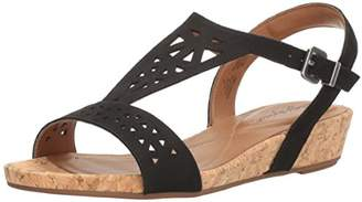 Easy Spirit Women's Nyleen Wedge Sandal $52.34 thestylecure.com