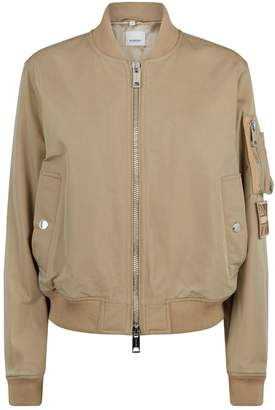 Burberry Zipped Bomber Jacket