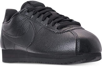 new concept f761d 68bd7 at Macy s · Nike Men s Classic Cortez Leather Casual Sneakers from Finish  Line
