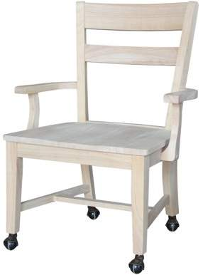 INC International Concepts International Concepts Dining Chair with Casters
