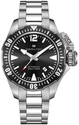 Hamilton Khaki Navy Frogman Automatic Bracelet Watch, 42mm