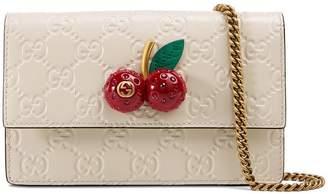 Gucci Signature mini bag with cherries