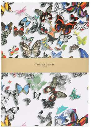 Christian Lacroix A4 BUTTERFLY PARADE NOTEBOOK