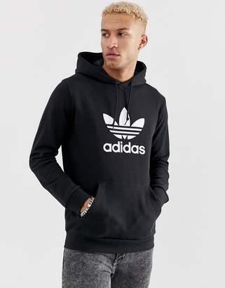 adidas Hoodie with Trefoil logo in black