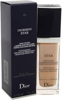 Christian Dior 1Oz #020 Light Beige Diorskin Star Studio Makeup
