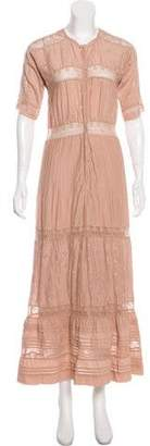 Ulla Johnson Button-Up Maxi Dress
