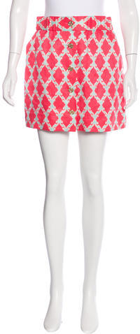 Kate SpadeKate Spade New York Printed Mini Skirt