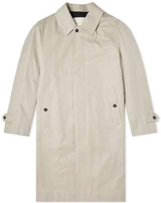 MACKINTOSH Cotton Single Breasted Mac