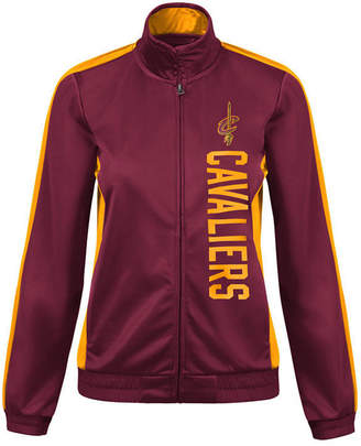 G-iii Sports Women Cleveland Cavaliers Backfield Track Jacket