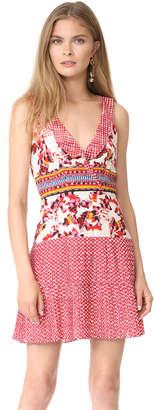 Saloni Amy Short Dress $450 thestylecure.com