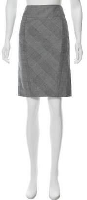 Marni Plaid Knee-Length Skirt