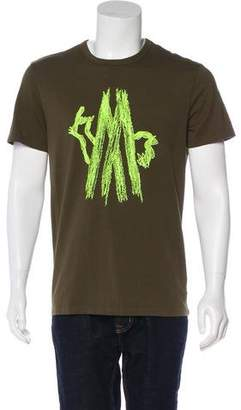 Moncler Embroidered Maglia T-Shirt