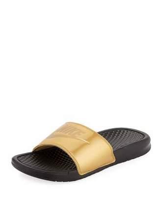 Nike Benassi Just Do It Flat Slide Sandals