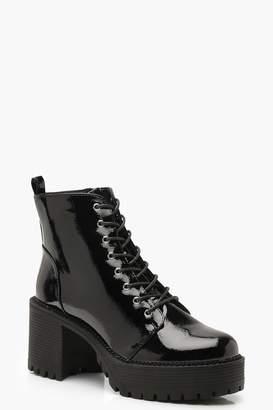 2c488afdd0bd boohoo Chunky Heel Boots For Women - ShopStyle UK