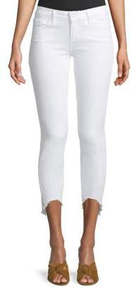 Paige Verdugo Skinny Crop Jeans with Arched Hem