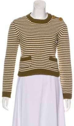Chloé Wool Striped Sweater