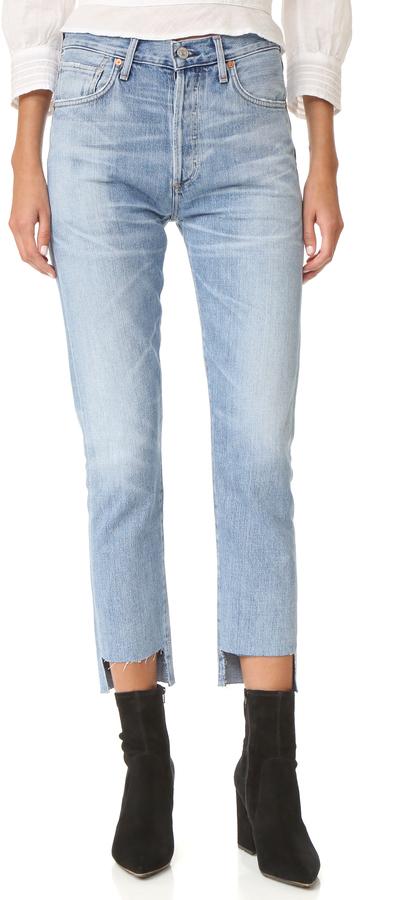 Citizens of Humanity Liya Hi-Lo Hem Jeans