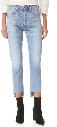 Citizens of Humanity Liya Hi-Lo Hem Jeans $268 thestylecure.com