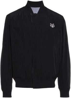 Kenzo tiger embroidered reversible bomber jacket