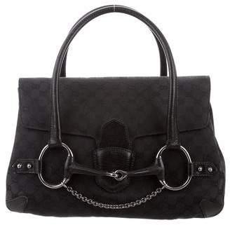 Gucci GG Large Horsebit Chain Flap Bag