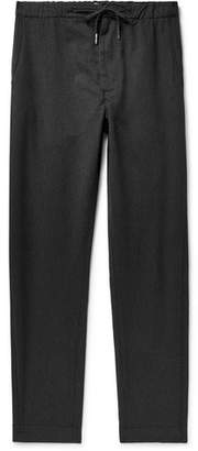 Bellerose Gracis Cotton And Virgin Wool-Blend Drawstring Trousers