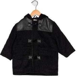 Catimini Boys' Hooded Wool-Blend Jacket