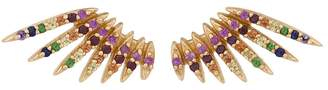 Celine Daoust Flying Sapphire Wing Stud Earrings