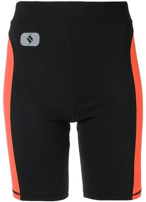 Alexander Wang side stripe cycling shorts