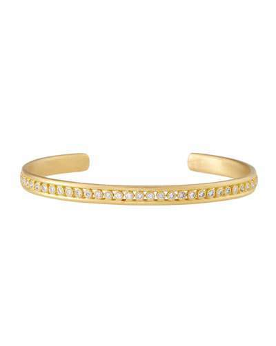 ArmentaArmenta Sueno 18K Gold Cuff Bracelet with Diamonds