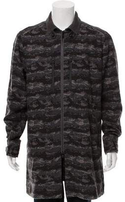 White Mountaineering Wool Zip-Up Jacket