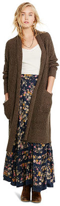 Ralph Lauren Denim & Supply Cotton-Linen Shawl Cardigan $185 thestylecure.com