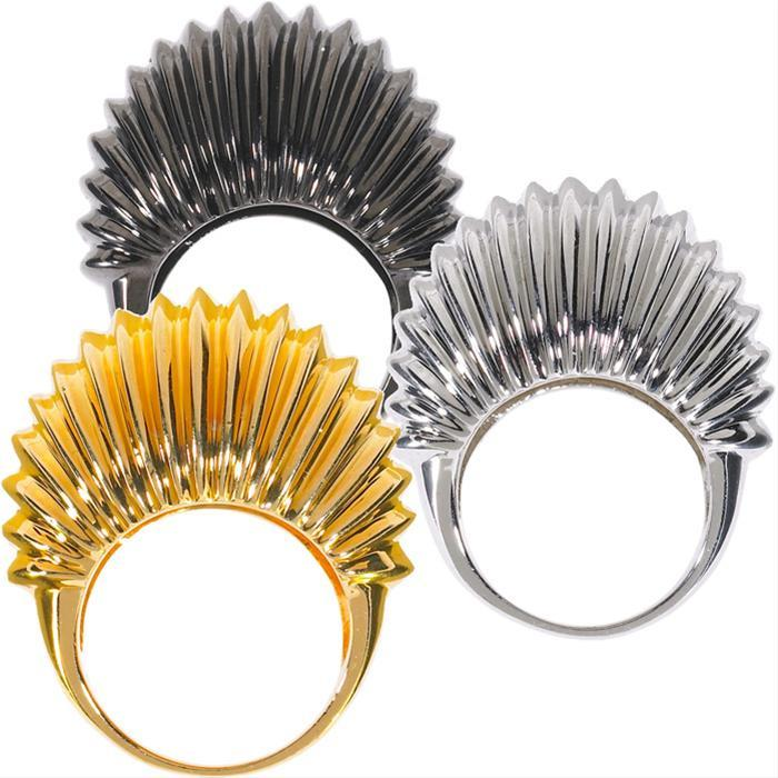 Ribbed Bubble Ring by Alexis Bittar