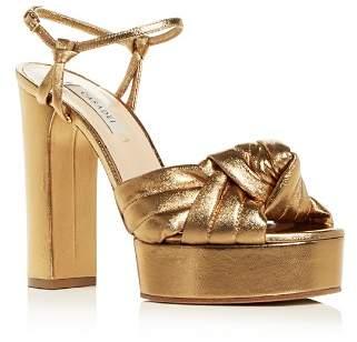 Casadei Women's High Block-Heel Platform Sandals
