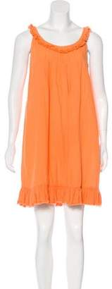 Calypso Sleeveless Linen Dress