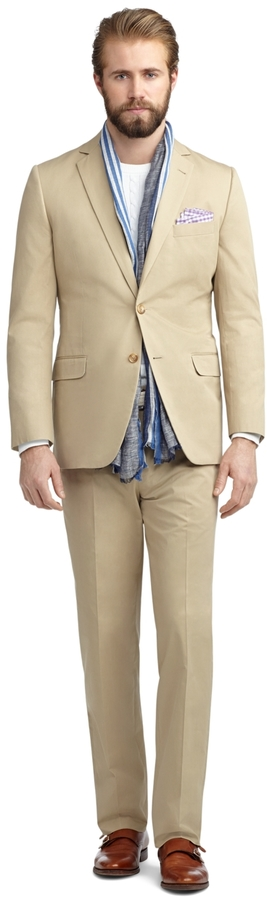 Brooks Brothers Fitzgerald Fit Twill Suit