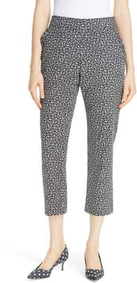 Kate Spade plains ditsy crop chino pants