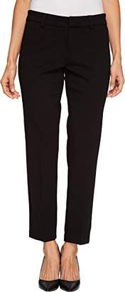 Liverpool Jeans Company Women's Petite Kelsey Straight Leg Trouser in Super Stretch Ponte