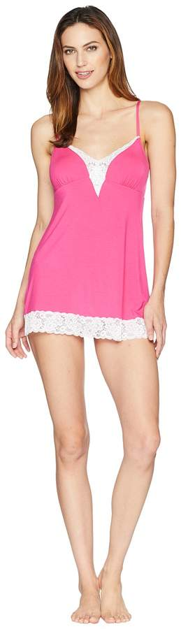 Amil Modal Chemise with Keyhole Back Women's Pajama