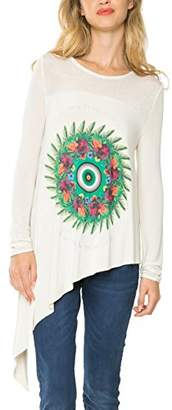 Desigual Women's Knitted T-Shirt Long Sleeve