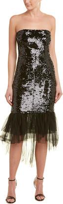 Pinko Sequin Midi Dress