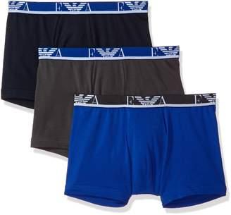 Emporio Armani Men's Stretch Cotton Ea 3 Pack Boxer Brief