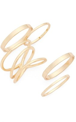 BP. Stackable Rings $14 thestylecure.com