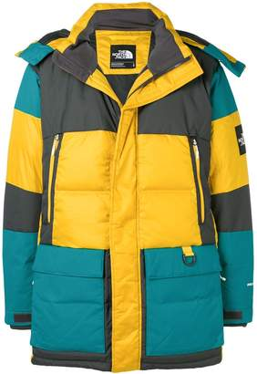 The North Face hooded feather down jacket