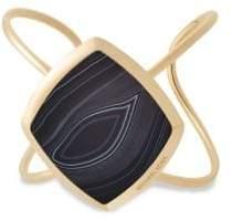 Michael Kors Cool and Classic Black Agate Cuff
