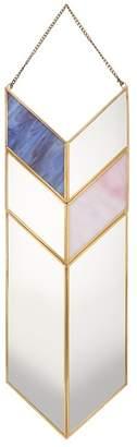 Debenhams Gold Metal Arrow Mirror