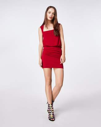 Nicole Miller Jersey Sleeveless Blouson Dress