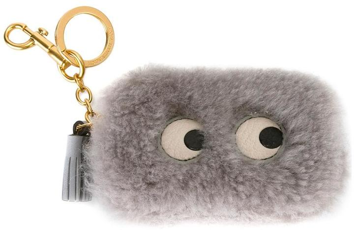 Anya Hindmarch Anya Hindmarch Eyes shearling coin purse