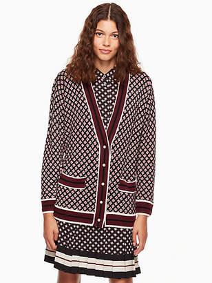 Kate Spade Diamond boyfriend cardigan