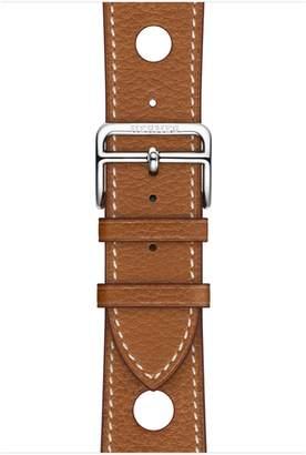 Apple AppleWatch Hermes - 44mm Fauve Grained Barenia Leather Single Tour Rallye
